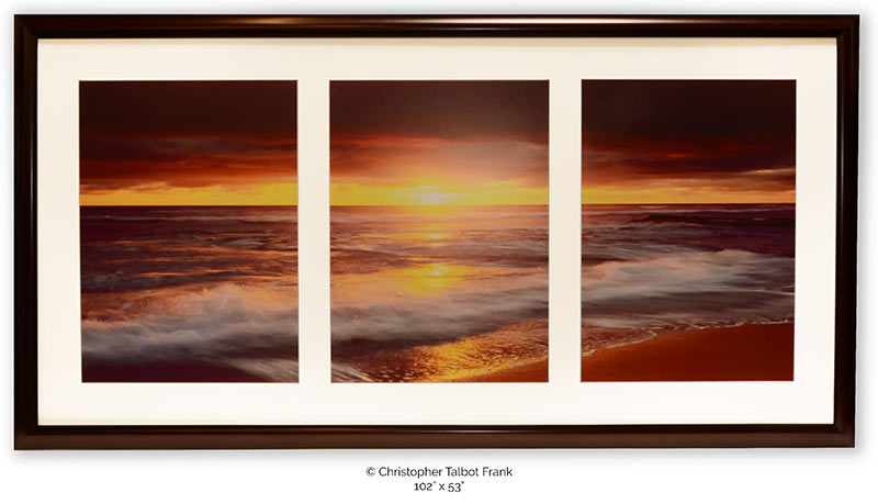 Custom Framed Artwork for Commercial Hotels, Hospitality and Healthcare
